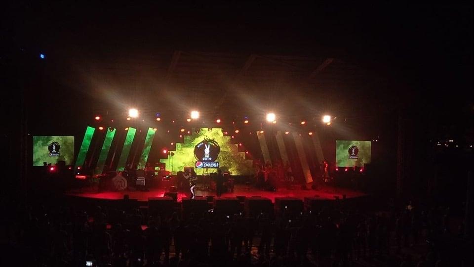 We did a concert in Sri Lanka!