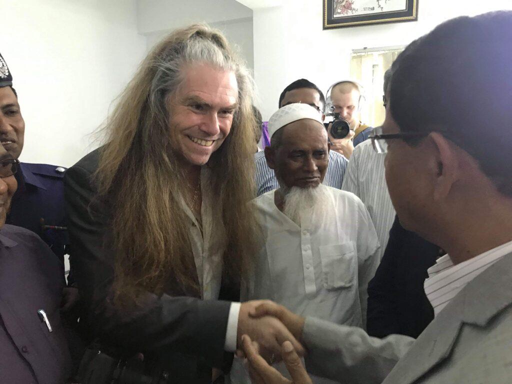 Bangladesh Juteminister / Jute Rock's tour