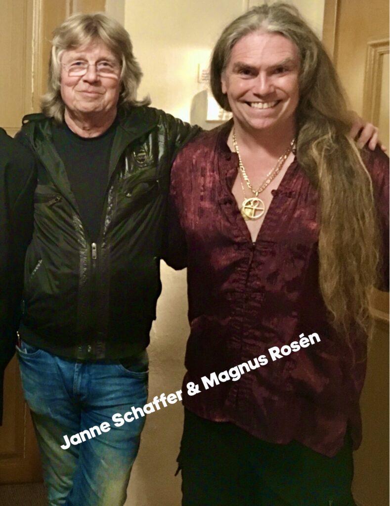 Janne Schaffer & Magnus Rosén band!